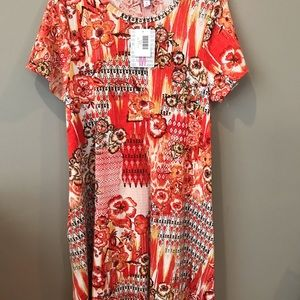 Medium LuLaRoe Jessie dress brand new with tags